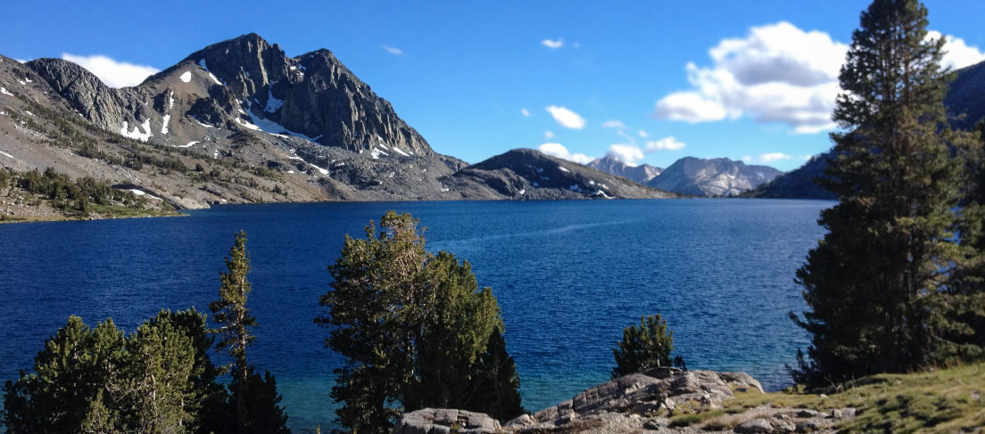 Lake View from Mammoth Lakes, California